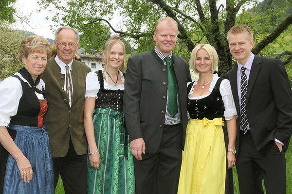Familie Mitteregger