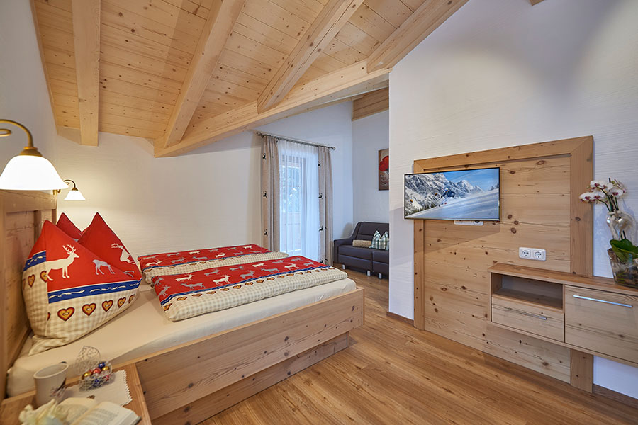 Pension Und Appartements Anny - Unser Chalet Schlafzimmer Chalet