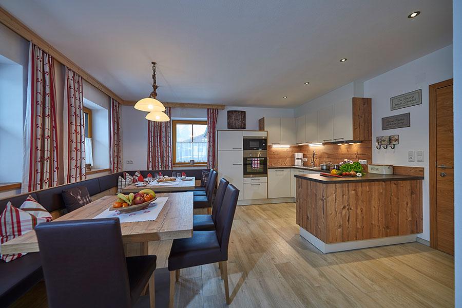Chalet - Küche/Essbereich