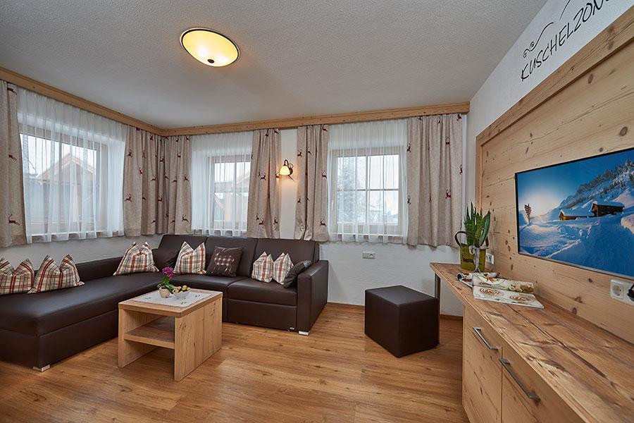 Chalet - Wohnzimmer