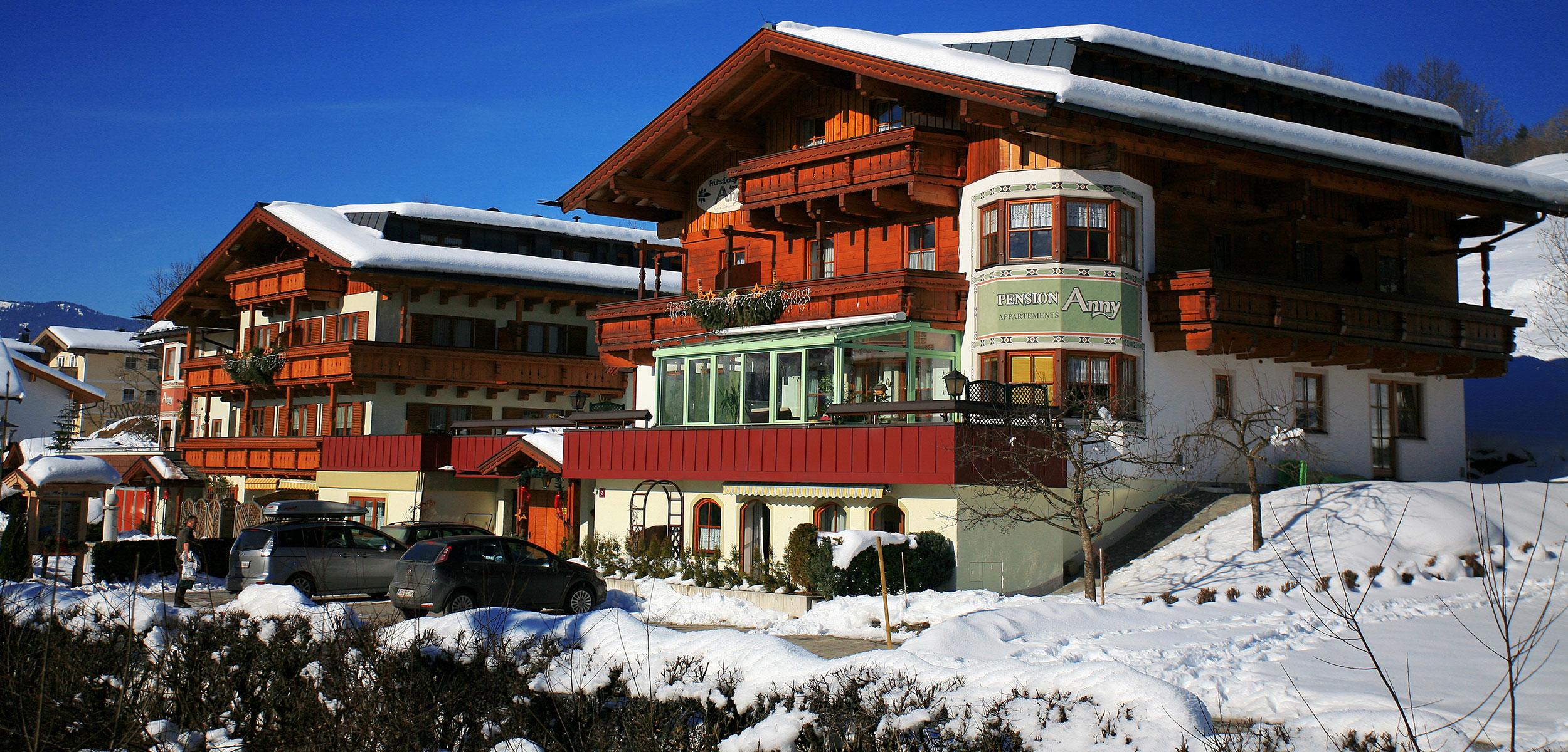 Das Haupthaus - Pension Anny