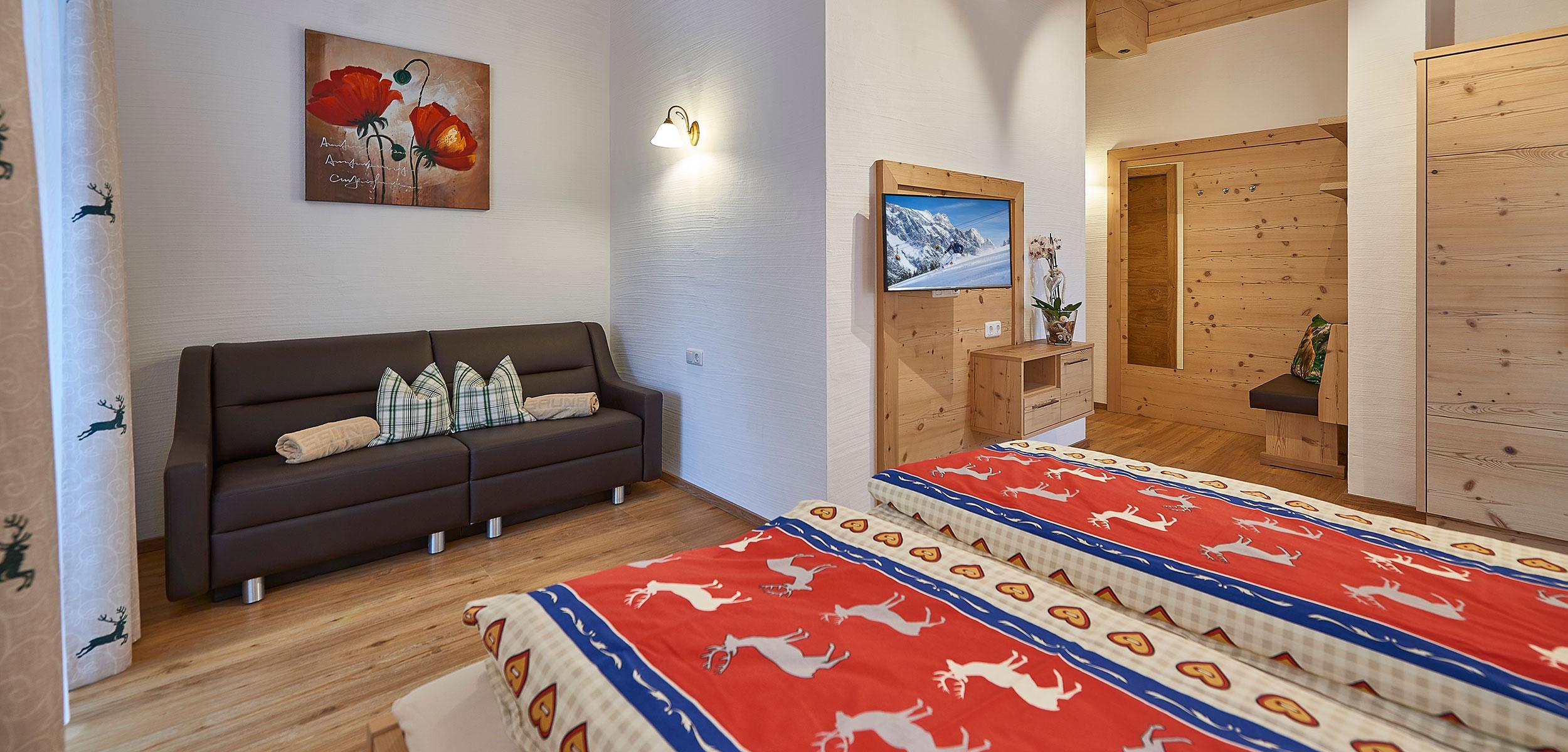 Chalet - Schlaf/Wohnbereich