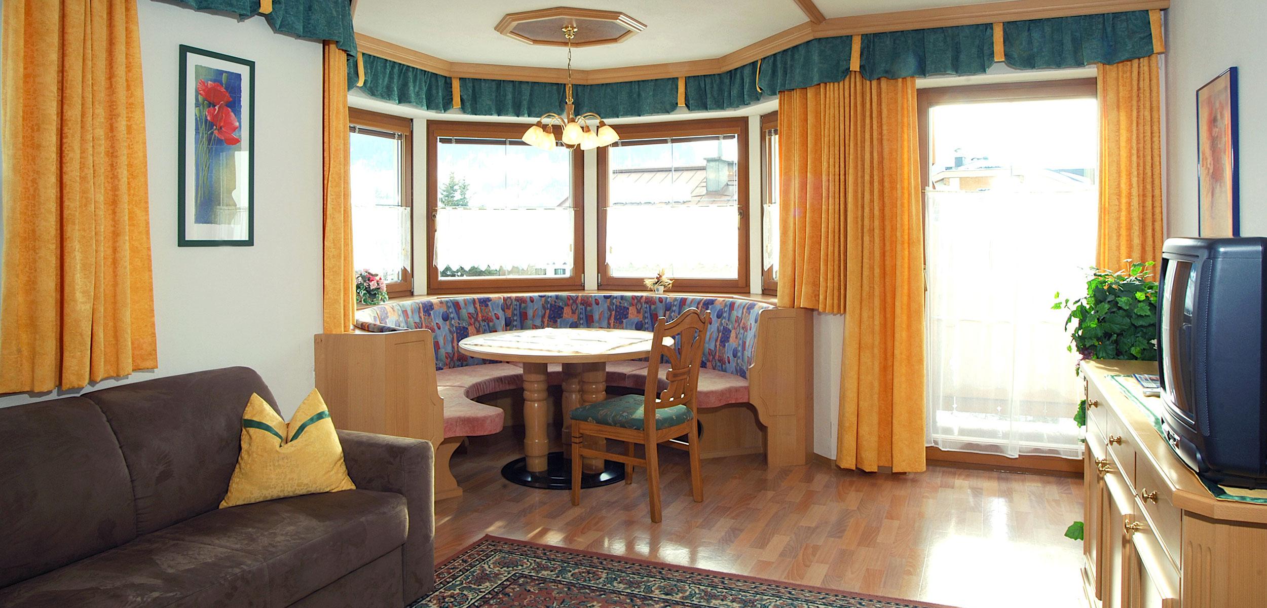 Pension Appartement Wohnraum