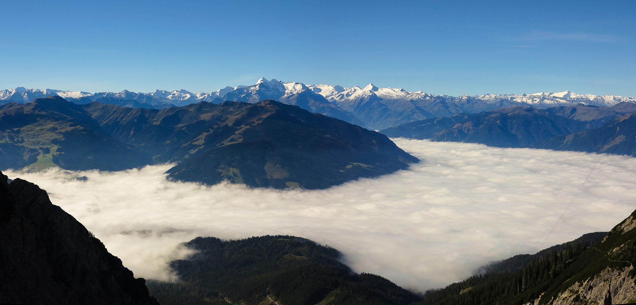 Die schöne Bergwelt rund um Maria Alm