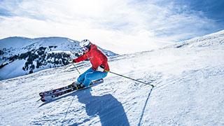 Schifahren am Hochkönig